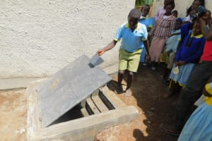 The Water Project: Mabanga Primary School -  Accessing Water