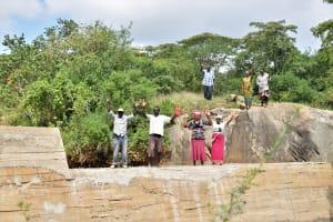The Water Project: Munyuni Community -  Finished Sand Dam