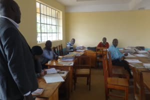 The Water Project: St. Theresa's Bumini High School -  Staff Office