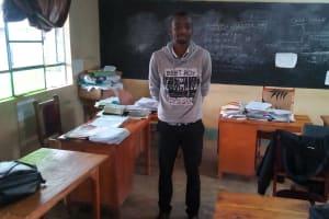 The Water Project: Ebulonga Mixed Secondary School -  Teacher John Kagehi