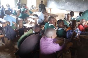 The Water Project: Bumbo Primary School -  Students In Class