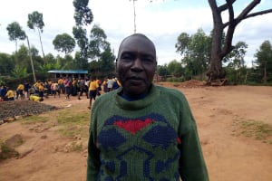 The Water Project: Friends Primary School Givogi -  Board Chair Henry Njusi