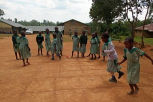 The Water Project: Bugute Lutheran Primary School -  Students Playing