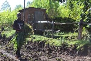The Water Project: Bukhakunga Community, Mukomari Spring -  Community Activity