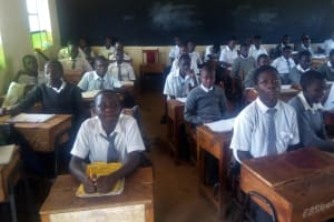 The Water Project: Ebulonga Mixed Secondary School -  Students In Class