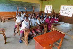The Water Project: Mulwanda Mixed Primary School -  Students In Class