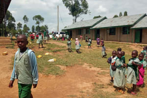 The Water Project: Bugute Lutheran Primary School -  School Grounds