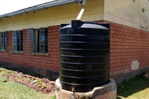 The Water Project: Demesi Primary School -  Small Plastic Tank