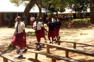 The Water Project: St. Theresa's Bumini High School -  School Grounds