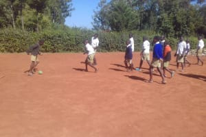 The Water Project: Kima Primary School -  School Playing Ground
