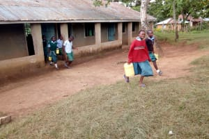 The Water Project: Bumbo Primary School -  Some Students Heading Out To Lunch Break