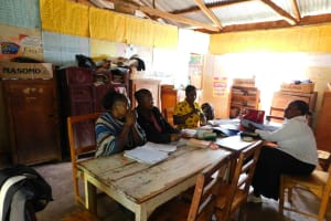 The Water Project: Hobunaka Primary School -  Staff Office