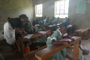 The Water Project: Bugute Lutheran Primary School -  Students In Class