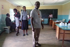 The Water Project: Ebukhayi Primary School -  Staff Office