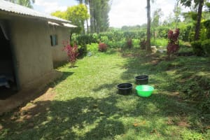 The Water Project: Ikonyero Community, Amkongo Spring -  Water Containers