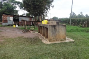 The Water Project: St. Theresa's Bumini High School -  The Taps On School Grounds
