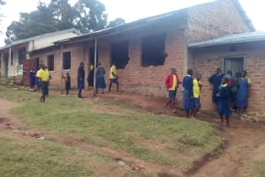 The Water Project: Kosiage Primary School -  Classroom Building