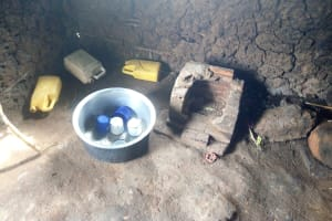 The Water Project: Banja Primary School -  Water Containers In Kitchen