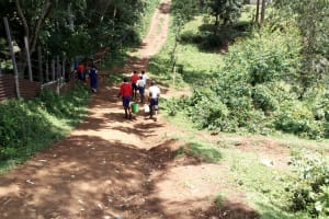 The Water Project: Goibei Primary School -  Going To Fetch Water