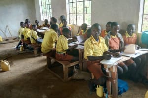 The Water Project: St. Margret Wadin'go Primary School -  Students In Class