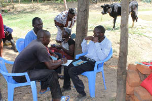 The Water Project: Bukhakunga Community, Ngovilo Spring -  Group Discussion