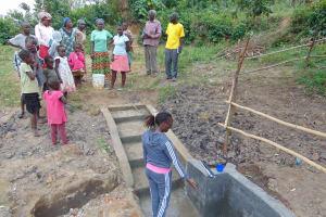 The Water Project: Mukoko Community, Mukoko Spring -  Spring Care Training