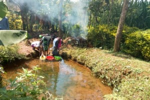 The Water Project: Lutonyi Community, Lutomia Spring -  Unprotected Spring