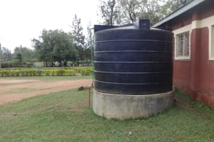The Water Project: St. Theresa's Bumini High School -  Water Storage