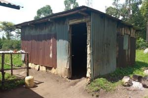 The Water Project: Ematiha Secondary School -  Water From The Well Is Brought Back And Stored Here