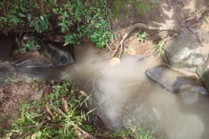 The Water Project: Ebukhayi Primary School -  Current Water Source