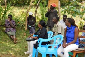 The Water Project: Bukhakunga Community, Khayati Spring -  Training