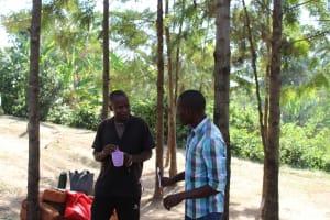 The Water Project: Bukhakunga Community, Ngovilo Spring -  Dental Hygiene Training