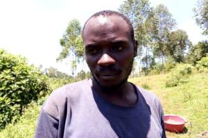 The Water Project: Kitulu Community, Kiduve Spring -  Fanson Lukwagagi