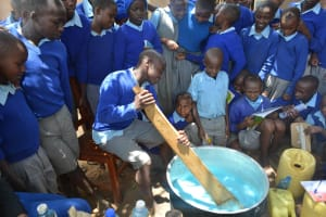 The Water Project: Kitandi Primary School -  Soap Training