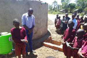 The Water Project: Namarambi Primary School -  Handwashing Training