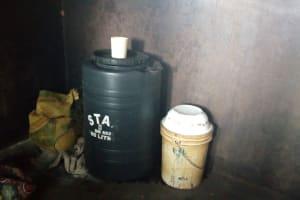 The Water Project: St. Joseph's Lusumu Primary School -  Water Storage In School Kitchen