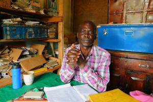 The Water Project: Mulwanda Mixed Primary School -  Headteacher