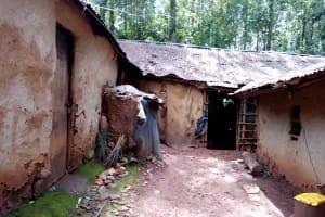 The Water Project: Mushina Community, Shikuku Spring -  Homestead