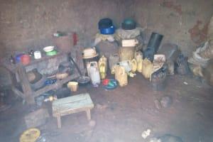 The Water Project: Mushina Community, Shikuku Spring -  Kitchen