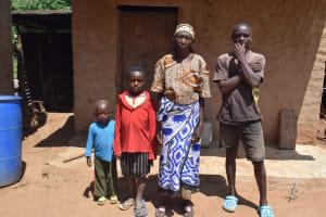 The Water Project: Maluvyu Community F -  Baika Kipya And Her Family