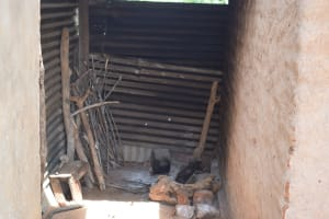 The Water Project: Maluvyu Community F -  Cooking Area