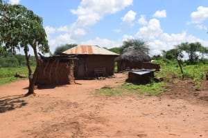 The Water Project: Maluvyu Community F -  Homestead
