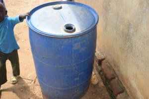 The Water Project: Maluvyu Community F -  Water Storage Container