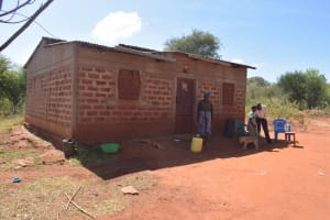 The Water Project: Mukuku Community -  Family At Home