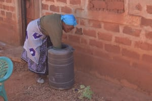 The Water Project: Mukuku Community -  Water Storage Container