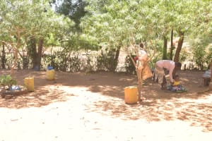 The Water Project: Kaukuswi Community -  At Home