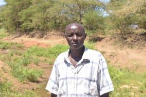The Water Project: Kaukuswi Community -  Benjamin Musau