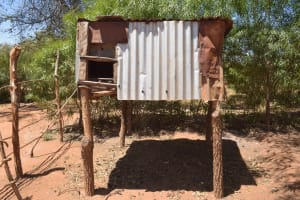 The Water Project: Kaukuswi Community -  Chicken Coop