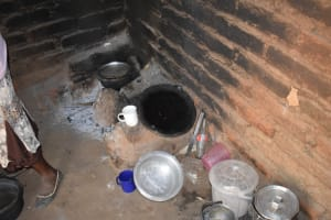 The Water Project: Kaukuswi Community -  Cooking Area