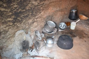 The Water Project: Maluvyu Community G -  Cooking Area